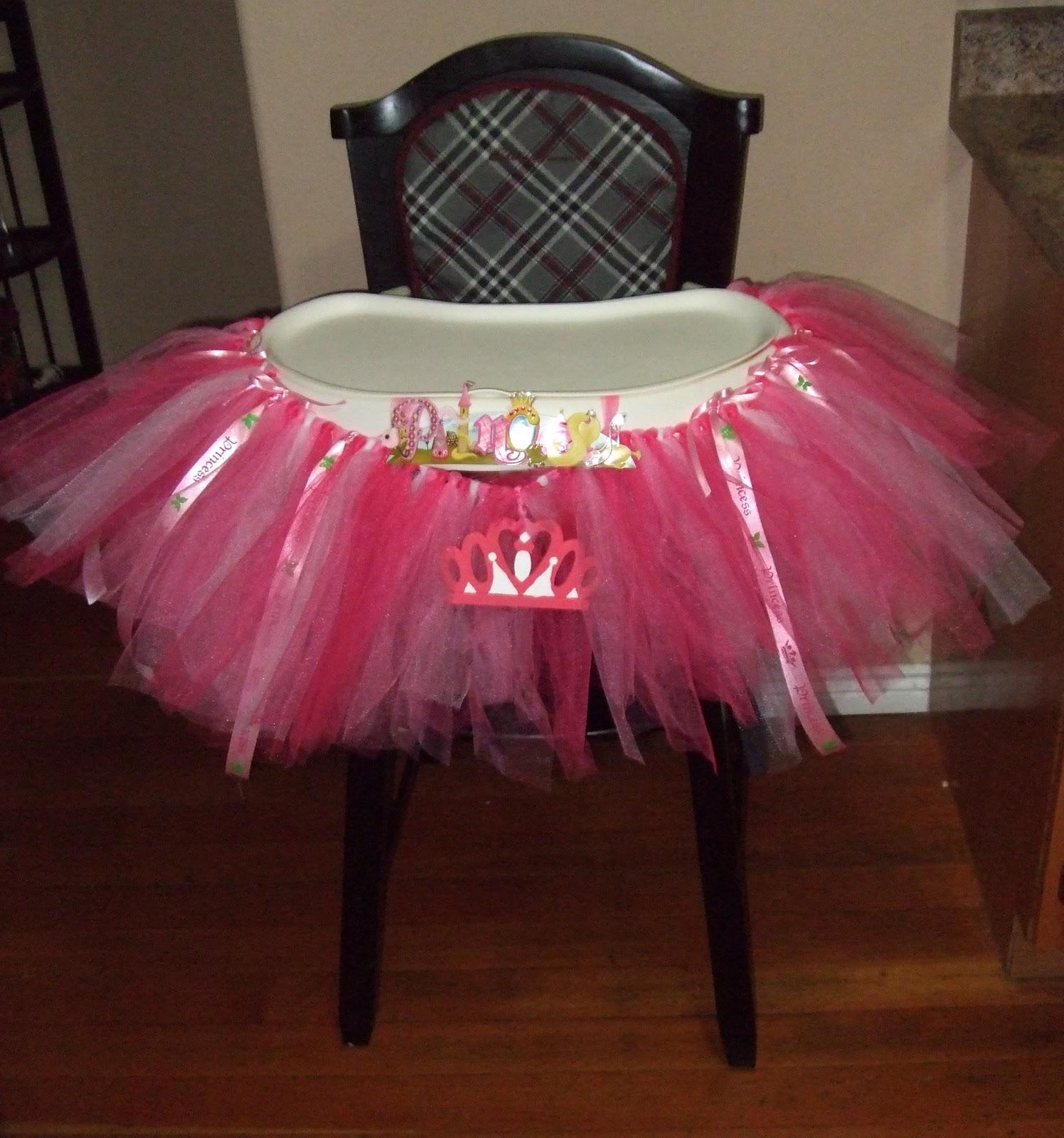 DIY Birthday High Chair Decor – Taylor Joelle
