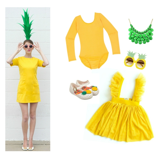 pinapple inspired costume